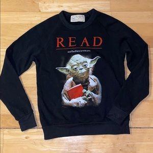 Unisex XS Yoda Sweatshirt.